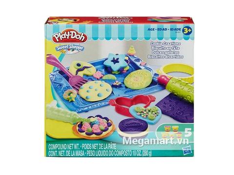 Hình ảnh vỏ hộp đựng Play-Doh B0307 - Khay bánh ngọt ngào