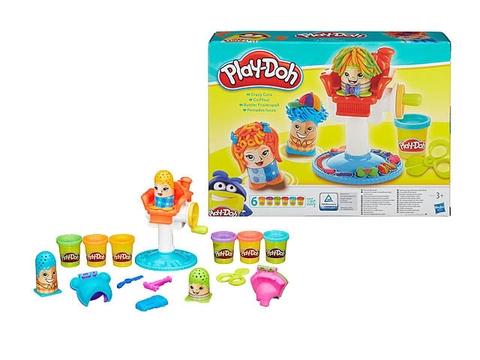 Các chi tiết có trong đồ chơi Play-Doh B1155 - Kiểu tóc thời trang