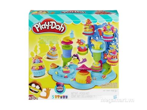 Vỏ hộp sản phẩm Play-Doh B1855 - Lễ hội bánh ngọt