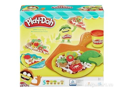Hộp đựng bên ngoài Play-Doh B1856 - Bữa tiệc pizza