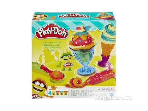 Hộp đựng bên ngoài Play-Doh B1857 - Dụng cụ làm kem đơn giản