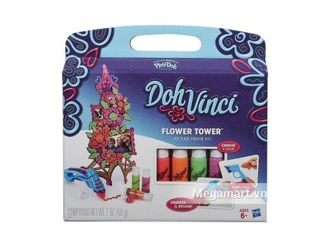 Vỏ hộp sản phẩm Play-Doh A7191 - Khung ảnh tháp hoa