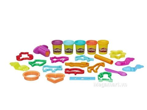 Bộ đồ chơi Play-Doh B1157 - Khuôn tạo hình đơn giản nhiều khuôn hình để bé sáng tạo