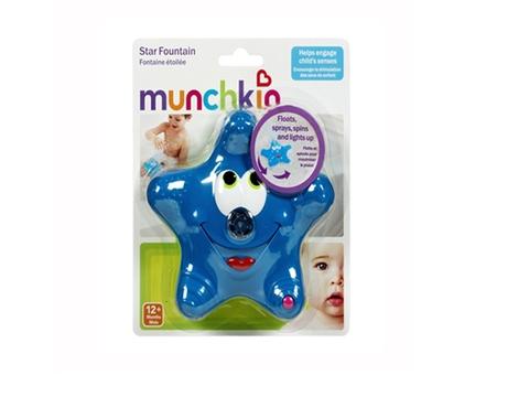 Hôp đựng bộ đồ chơi nhà tắm Munchkin Sao biển phun nước