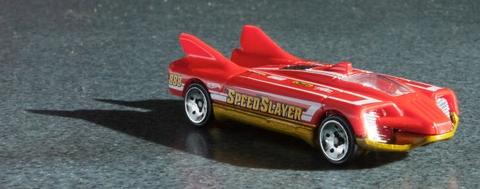 Hot Wheels Speed Slayer có chất liệu cao cấp, an toàn