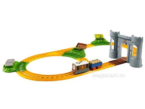 Thomas & Friend Bộ đường ray đi tìm kho báu - toàn bộ các chi tiết