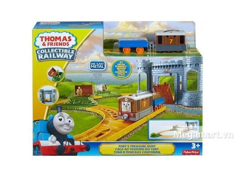 Thomas & Friend Bộ đường ray đi tìm kho báu - ảnh bìa sản phẩm