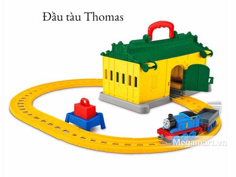Thomas & Friend Bộ đường ray nhà xe Tidmouth - nhà ga