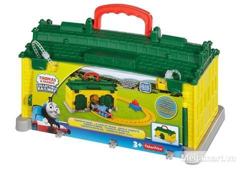 Thomas and Friends Bộ đường ray nhà xe Tidmouth - Hình ảnh vỏ hộp sản phẩm