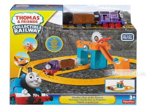 Chi tiết bộ Thomas and Friends Bộ đầu máy xe lửa Charlie khai thác đá