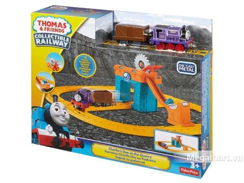 Hình ảnh vỏ hộp bộ Thomas and Friends Bộ đầu máy xe lửa Charlie khai thác đá