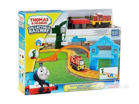 Hình ảnh vỏ hộp bộ Thomas and Friends Bộ đường ray bến cảng