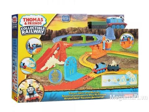 Thông tin chung bộ Thomas and Friends Bộ đường ray khủng long