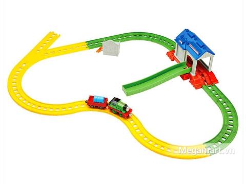 Thomas and Friends Bộ đường ray Percy đi trung tâm cứu hộ - Hình ảnh vỏ hộp sản phẩm