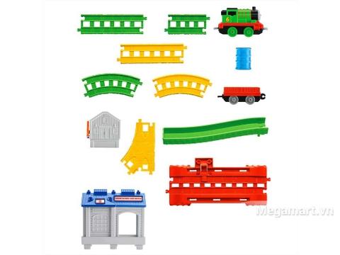 Chi tiết bộ Thomas and Friends Bộ đường ray Percy đi trung tâm cứu hộ