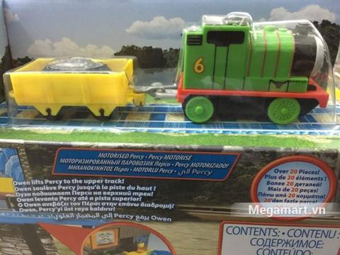 Thomas and Friends Bộ đường ray vận chuyển hàng bằng thang máy Percy - chi tiết sống động