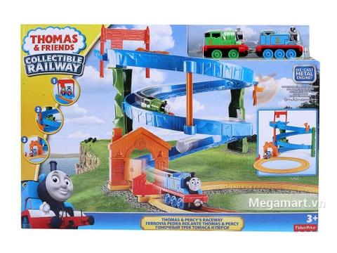Ảnh bìa sản phẩm Thomas & Friends Bộ đường ray xoắn ốc