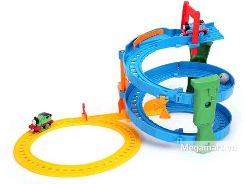 Thomas & Friends Bộ đường ray xoắn ốc - mô hình đường ray tuyệt đẹp