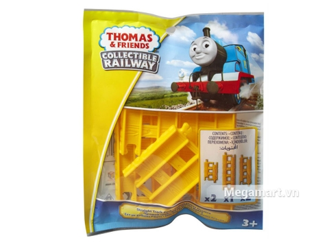 Hình ảnh vỏ hộp bộ Thomas and Friends Bộ phụ kiện đường ray - Vàng