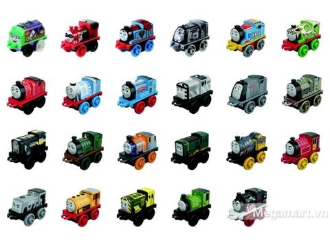 Thomas & Friends Đầu máy xe lửa tí hon - các mẫu đầu máy bé có thể sưu tập