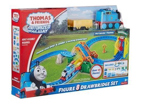 Thomas and Friends Đường ray hình số 8 - Cầu kéo di động -Hình ảnh vỏ hộp