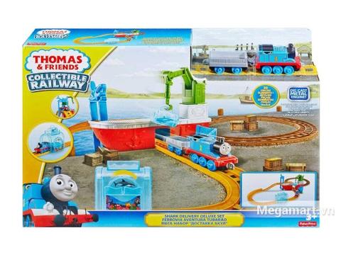Chi tiết bộ Thomas and Friends Bộ đường ray hàm cá mập