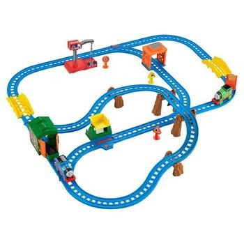 Hinh ảnh chi tiết sản phẩm Thomas & Friends Bộ đường ray Một ngày bận rộn cùng Percy