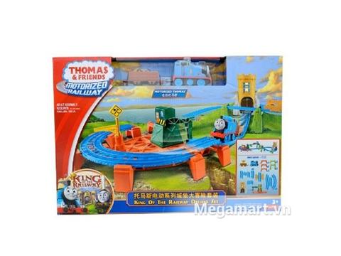 Vỏ hộp sản phẩm Thomas & Friends Bộ đường ray thử thách vòng số 8