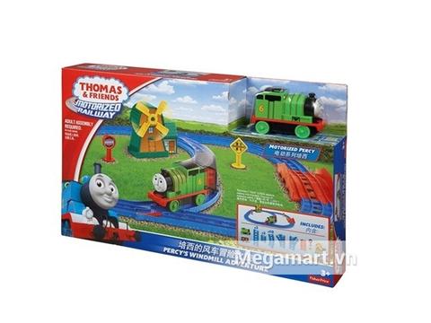 Vỏ sản phẩm Thomas & Friends Bộ đường ray Vượt nông trại