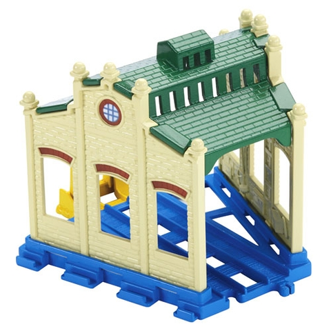 Mô hình Thomas and Friends Bộ phụ kiện đường ray cao cấp - Nhà máy Tidmouth