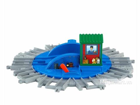 Mô hình Thomas & Friends Bộ phụ kiện đường ray cao cấp - Trạm trung chuyển độc đáo