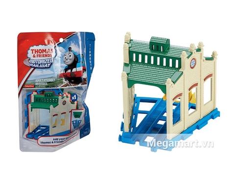 Hình ảnh vỏ hộp bộ Thomas and Friends Bộ phụ kiện đường ray cao cấp - Nhà máy Tidmouth