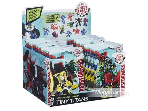 Hình ảnh vỏ ngoài của bộ Transformers Robot Transfomer RID phiên bản tí hon