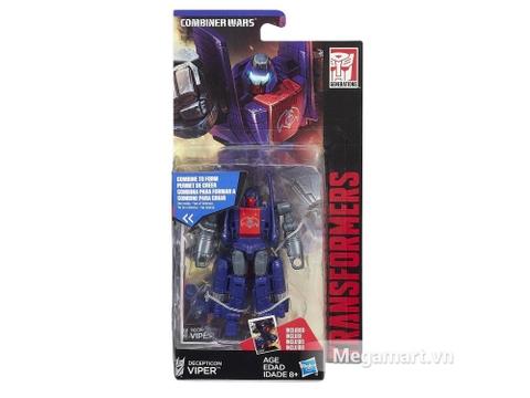 Hộp đựng Transformers Decepticon Viper phiên bản thế hệ huyền thoại
