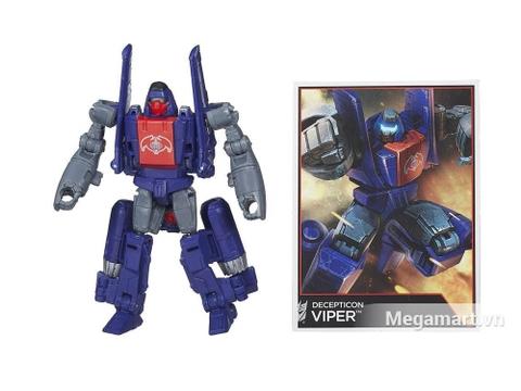 Transformers Decepticon Viper phiên bản thế hệ huyền thoại cho bé gia nhập và tham gia các trận chiến hấp dẫn