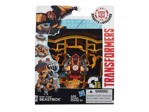Vỏ hộp Transformers RID Mini-con Beastbox