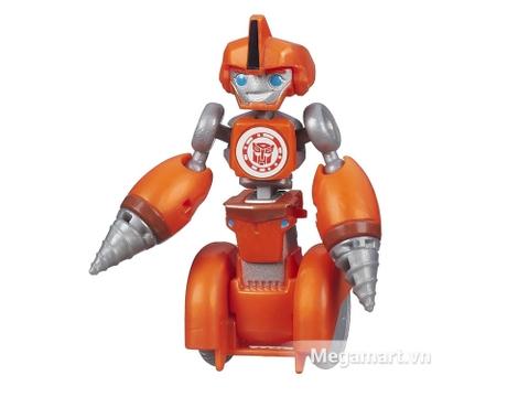 Mô hình Transformers Robot RID Legion Fixit màu cam xinh xắn