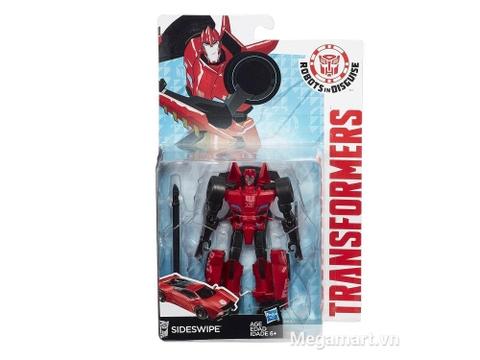 Hình ảnh hộp đựng Transformers Robot Sideswipe RID phiên bản chiến binh