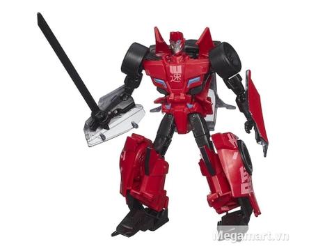 Mô hình Transformers Robot Sideswipe RID phiên bản chiến binh