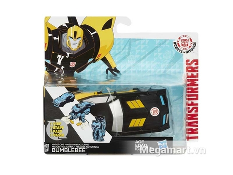 Vỏ hộp Transformers Robot Bumblebee RID phiên bản biến đổi siêu tốc