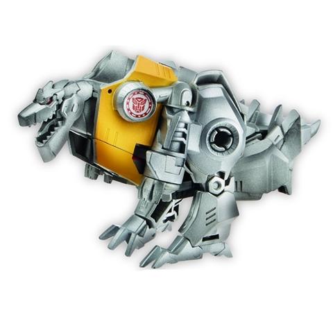 Transformers Robot Gold Armor Grimlock RID phiên bản biến đổi siêu tốc giúp rèn luyện và phát triển tư duy cho bé