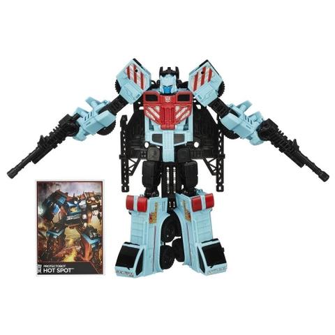 Mô hình robot Transformers Robot Protectobot Hot Spot phiên bản kết hợp huyền thoại
