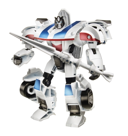 Transformers Robot Autobot Jazz RID phiên bản chiến binh với mô hình biến đổi đầy sáng tạo