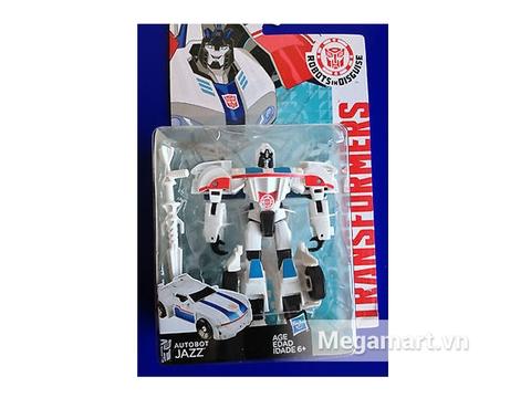 Vỏ hộp đựng sản phẩm Transformers Robot Autobot Jazz RID phiên bản chiến binh