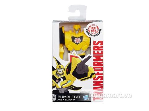 Hình ảnh vỏ ngoài của Transformers Robot Bumblebee RID phiên bản chiến thần