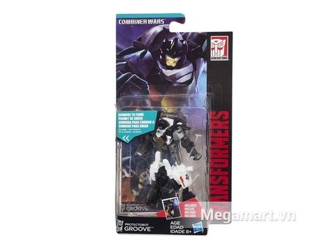 Vỏ hộp đựng sản phẩm Transformers Robot Groove phiên bản thế hệ huyền thoại
