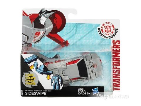 Vỏ hộp Transformers Robot Ninja Mode Sideswipe RID phiên bản biến đổi siêu tốc