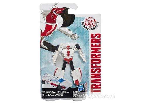 Hình ảnh vỏ ngoài của Transformers Robot Sideswipe phiên bản chiến sĩ