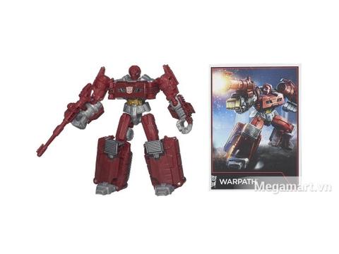 Mô hình Transformers Robot Warpath phiên bản thế hệ huyền thoại