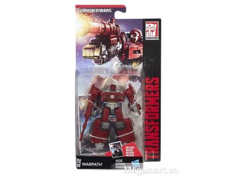 Hộp đựng bên ngoài Transformers Robot Warpath phiên bản thế hệ huyền thoại